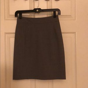 Theory suit skirt in grey size 00